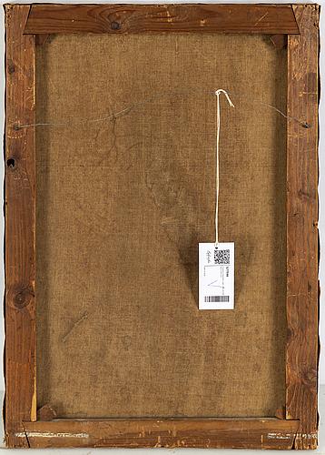 François dumont, signed. oil on canvas 64.5 x 45 cm.