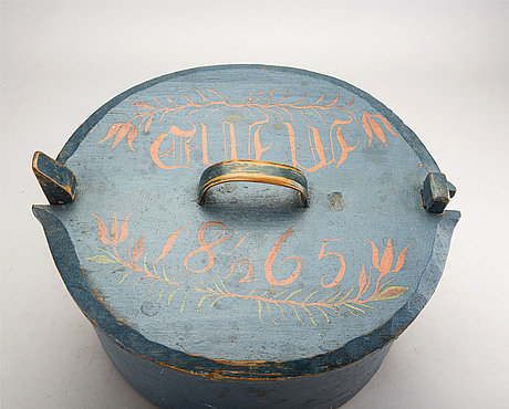 Svepask daterad 1865.