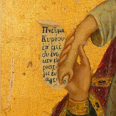 A late 19th century ryssian icon.