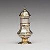 A swedish late baroque parcel-gilt silver snuff-box, mark possibly of erik löfman (uppsala 1690-1718 (-1729)).