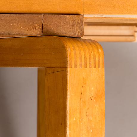 Alvar aalto, 1940's dining table for o.y. huonekalu- ja rakennustyötehdas a.b.