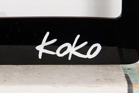 Koko, (gregory rouillard and sebastien ferrand), metal work, signed koko.