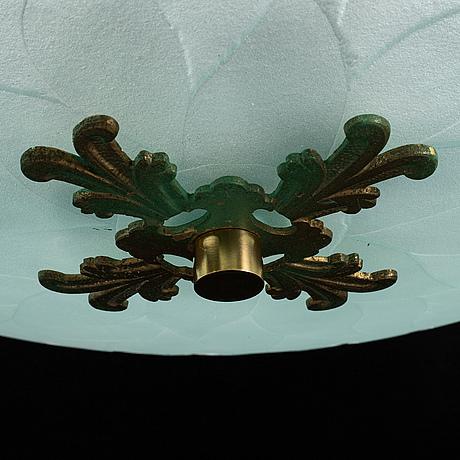 A 1940´s swedish modern ceiling light.
