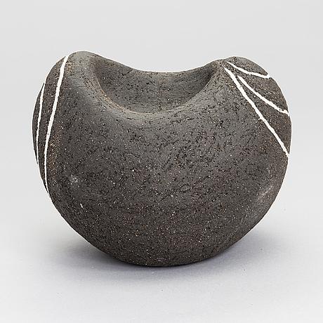 Anna hackman, a 'void' sculpture signed ah -11.