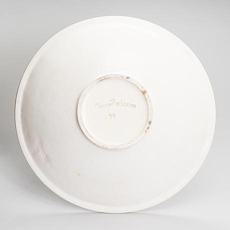 Anna hackman, a 'cobra' bowl signed anna hackman -99.