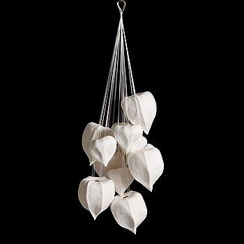 Anna Hackman, a 'Pods' sculpture, signed AH 2017.