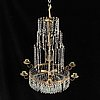 A chandelier, first half of the 20th century.