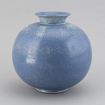 A Gunnar Nylund stoneware vase, Rörstrand.