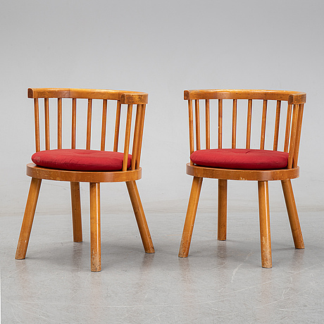 Armchairs, first half of the 20th century.