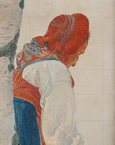 "Carl larsson, ""bodakulla (studie)""."