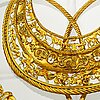 "Hermès, scarf, ""les cavaliers d'or""."