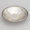 Erik fleming, a silver bowl, atelier borgila, stockholm 1945.