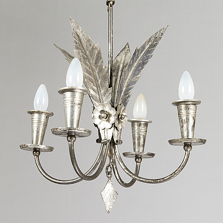 Paavo tynell, a 1930's 'r3/1703' chandelier for taito.