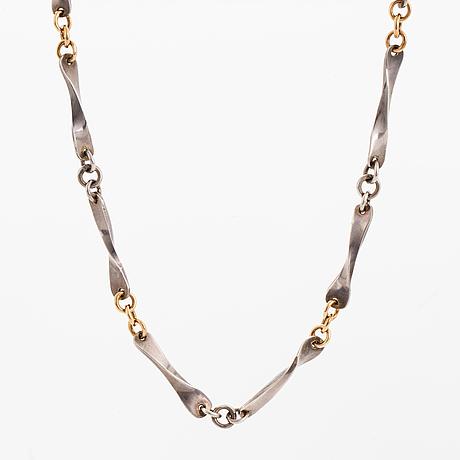 Claës giertta, sterling silver necklace.
