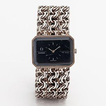 Omega, De Ville, wristwatch, 32 x 24 mm.