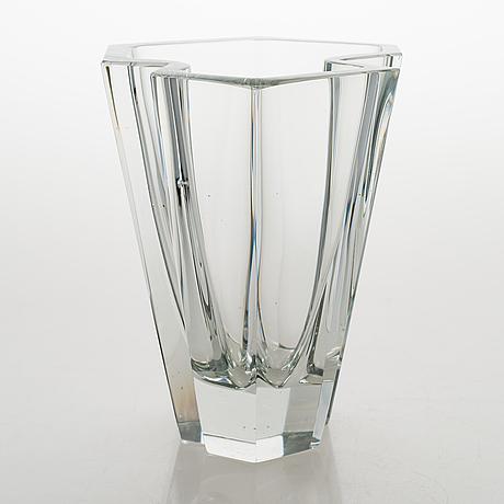 Tapio wirkkala, a 'pinja' glass vase model 3579, signed tapio wirkkala iittala -55.