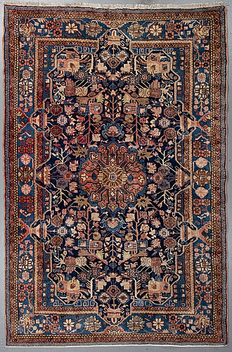A carpet, west persian, ca 303 x 200 cm.