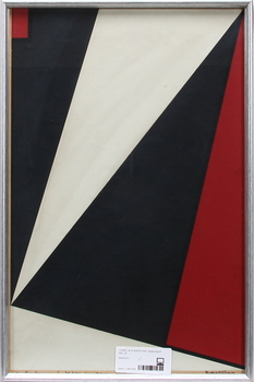 OLLE BAERTLING, färgseriegrafi, sign.