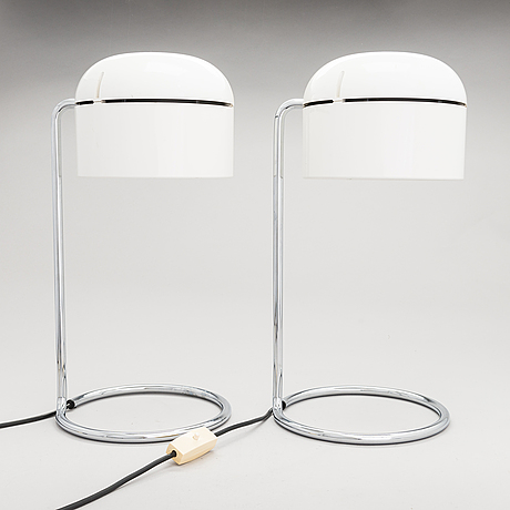 A pair of tablelamps from late 20th century.