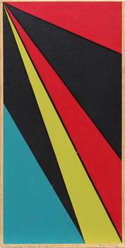 OLLE BAERTLING, färgseriegrafi, sign o dat 58.
