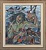 Endel köks, oil on canvas signed and dated 53.