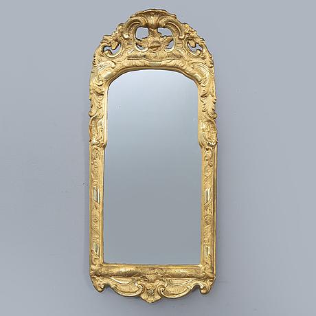 Spegel rokokostil 1900-talets mitt.