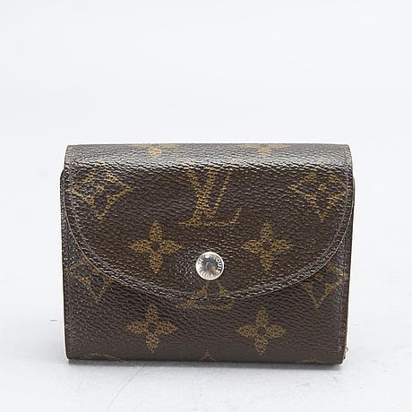An 'helene' wallet by louis vuitton.