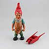 A ceramic gnome, west germany, second half of the 20th century.