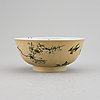 A famille verte bowl, qing dynasty, kangxi (1662-1722).