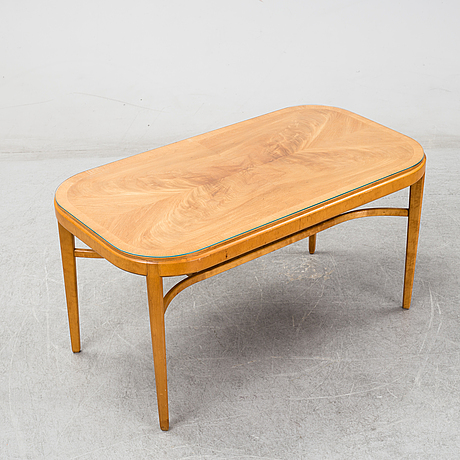 A coffe table, mid 20th century.
