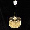 Hans-agne jakobsson, a ceiling lamp for hans-agne jakobsson ab, markaryd, sweden 1960/70's.