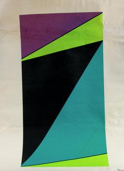 OLLE BAERTLING, färgseriegrafi, sign, dat 1965-74, E/A.