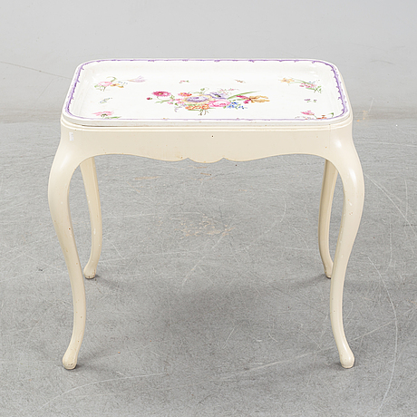 Ewaldin pettersson, a ceramic tray table, gustavsberg, easly 20th century.