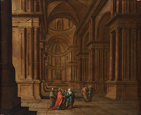 Jan juriaensz. van baden, panel 56 x 69 cm. signed and unclear dated 1624.