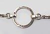 Efva attling silver jewellery 3 pieces, 2 necklaces and 1 bracelet, sterling silver, original etui.