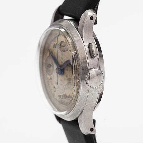Heuer, one button, rannekello, 32 mm.