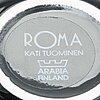 """Kati tuominen-niittylä, tillbringare, 2 st, """"storybirds"""" och 2-delad serveringsskål, """"roma"""", för arabia, finland."""