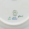 Royal copenhagen, a 'flora danica' porcelain platter, denmark.