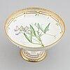 Royal copenhagen, a porcelain 'flora danica' tazza, denmark.