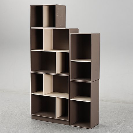 Five modules of montana shelving system by peter j lassen. 21 st century.
