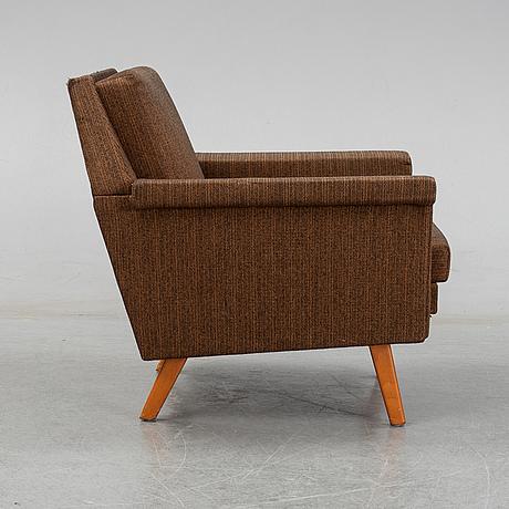 Johannes andersen, a trensum easy chair, 1960's.
