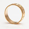"Börje rajalin, an 18k gold ring ""metsäpirtti"", model no. 659. kalevala koru, helsinki 1994."