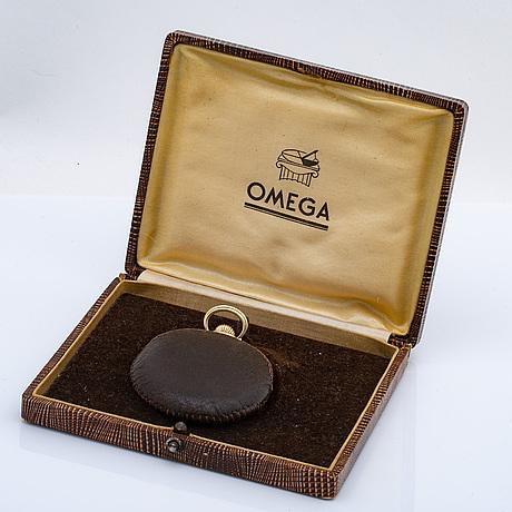 Omega, pocket watch hunter, 50 mm.