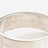 Elis kauppi, a silver ring. kupittaan kulta, turku 1969.