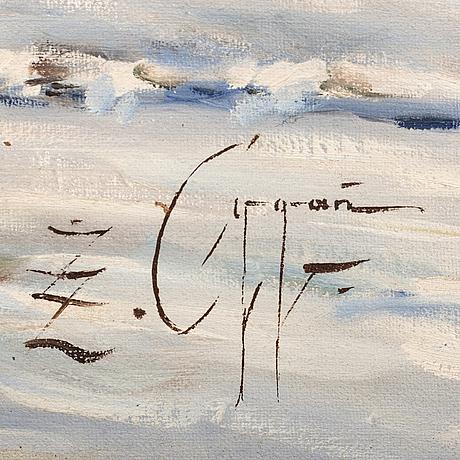 Zbigniew ŻÓŁkiewski oygan, signed z cygan, oil on canvas, signed.