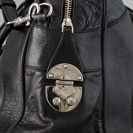 Miu miu, leatherbag.