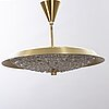 A mid 20th century carl fagerlund ceiling lamp.