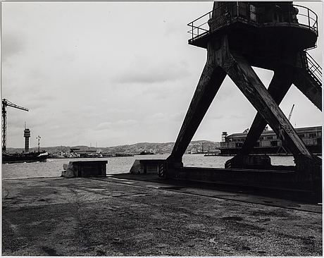Tuija lindström, photograph mounted to aluminum signed on verso.