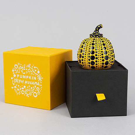 Yayoi kusama, after, object/multipel, 'pumpkin', published by benesse holdings inc naoshima, japan, 2013.