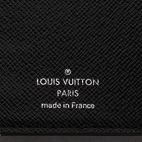 Louis vuitton, 'electric epi joey wallet black'.